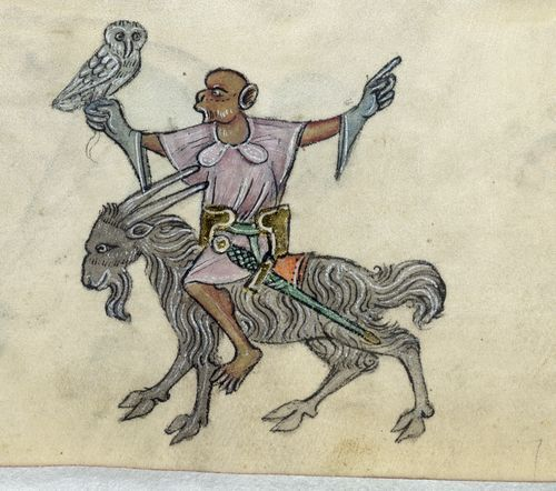 From the Medieval Manuscripts blog post 'Marginali-yeah: Take 2! The Incomparable Luttrell Psalter'. Image:
