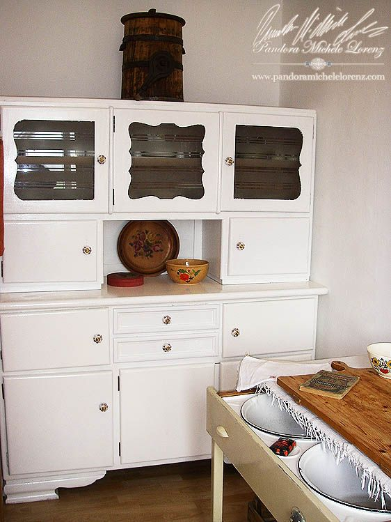 53 best vintage shabby chic romantik landhaus country style k che kitchen images on. Black Bedroom Furniture Sets. Home Design Ideas