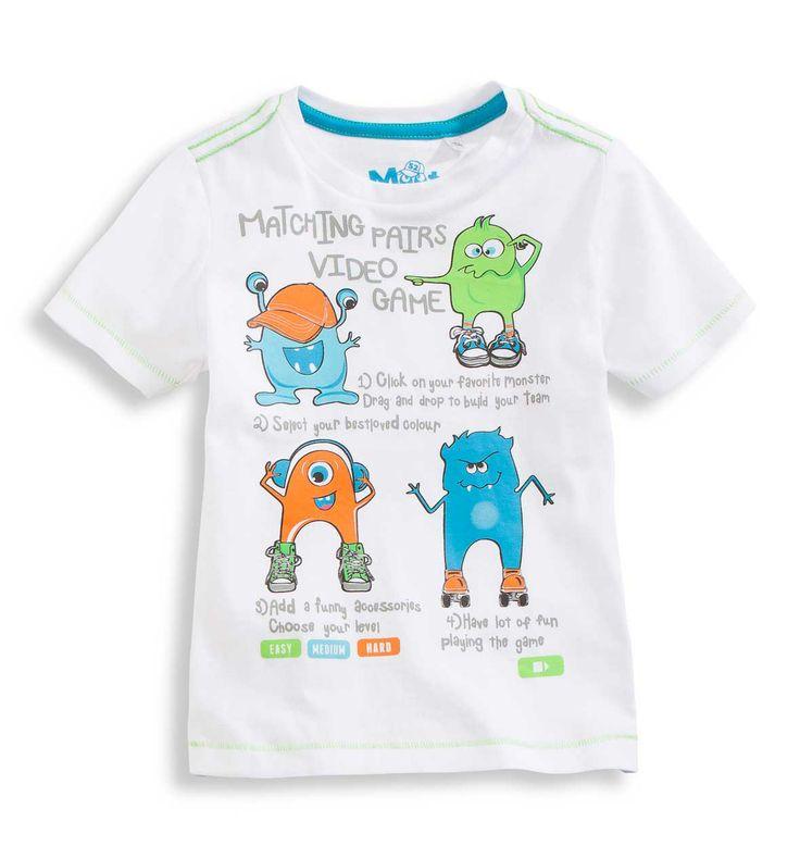 T-shirt imprimé Monstres C&A