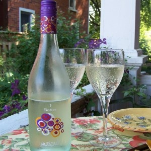 My favorite wine: light, bubbly and fruity. :)