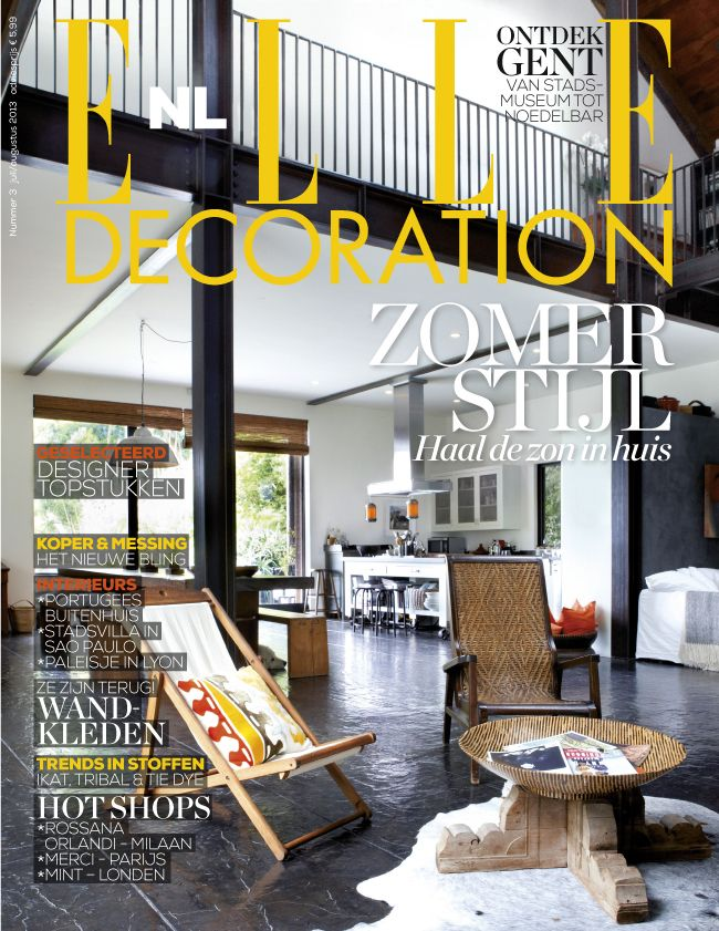 Cover 3 - 2013 | ELLE Decoration NL