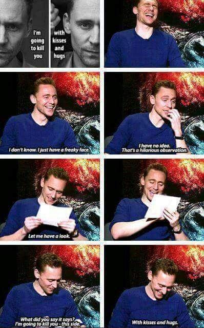 I just laughed so hard! Someone finally showed him, and the react is the best!! Haha. I love this man!