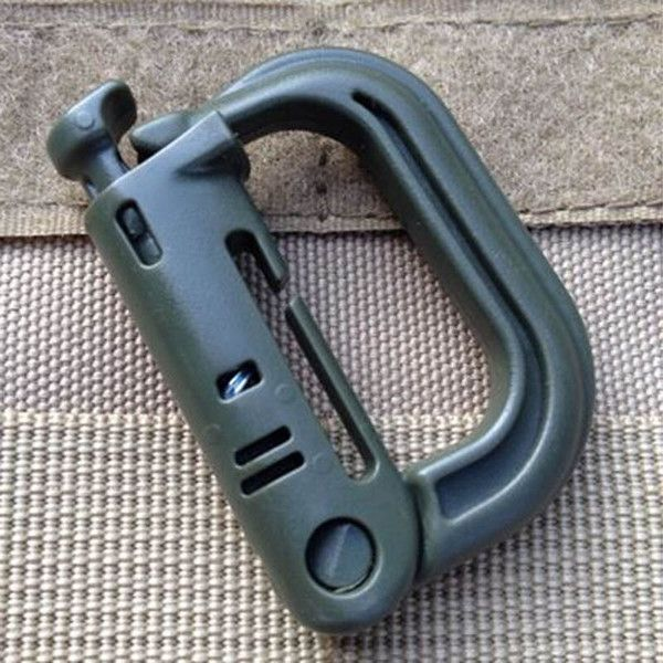 Tactical Backpack EDC Shackle Carabiner