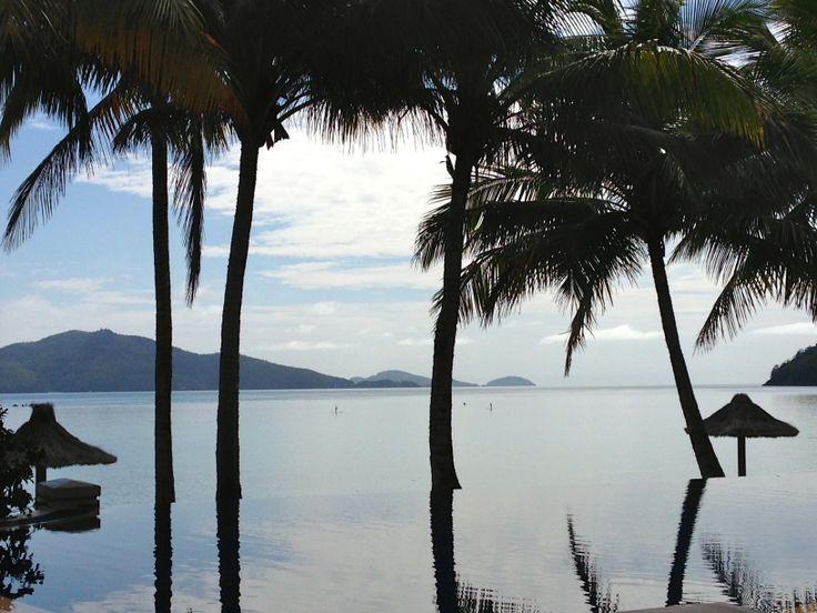 Beautiful hotel pool, Beach Club, Hamilton Island, Queensland, Australia