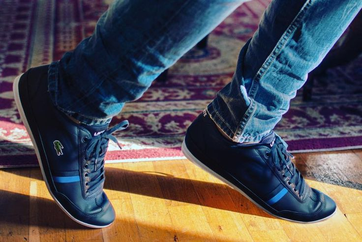 Ολόφρεσκα  LACOSTE ανδρικά casual sneakers!