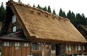 Kanja, Gassho-zukuri Japanese Farmhouse accommodations in Shirakawa-go http://www.japaneseguesthouses.com/db/shirakawago/kanja.htm