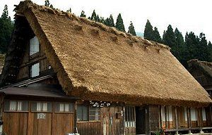 Kanja, Gassho-zukuri Japanese Farmhouse accommodations in Shirakawa-go http://www.japaneseguesthouses.com/db/shirakawago/kanja.htm