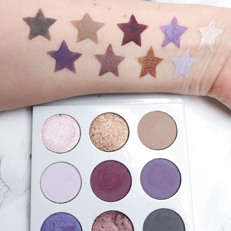 Kylie Purple Palette - The Prettiest Cruelty Free Purple Eyeshadow Palette made in the USA. You know I love purples and this one doesn't disappoint!