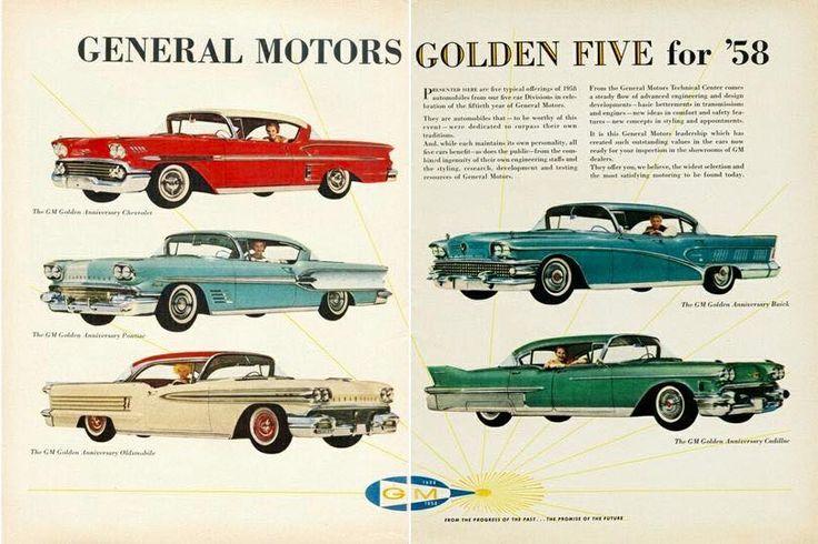 Publicité General Motors 1958 - Collectible Automobile Magazine.