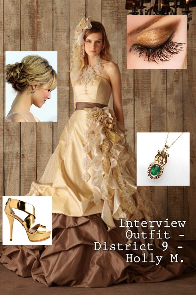 My Interview Outfit Hairstyle Eye Makeup Emerald