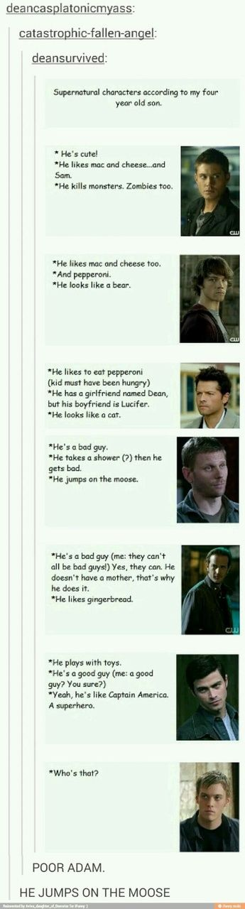 But his boyfriend is lucifer