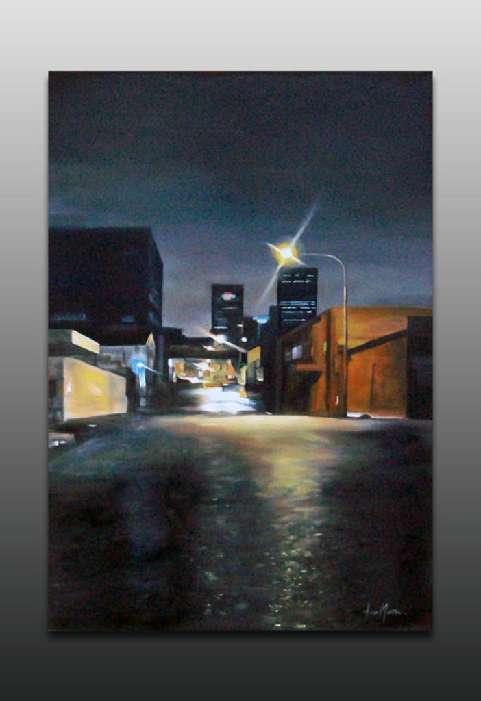 Joburg AT Night Painting