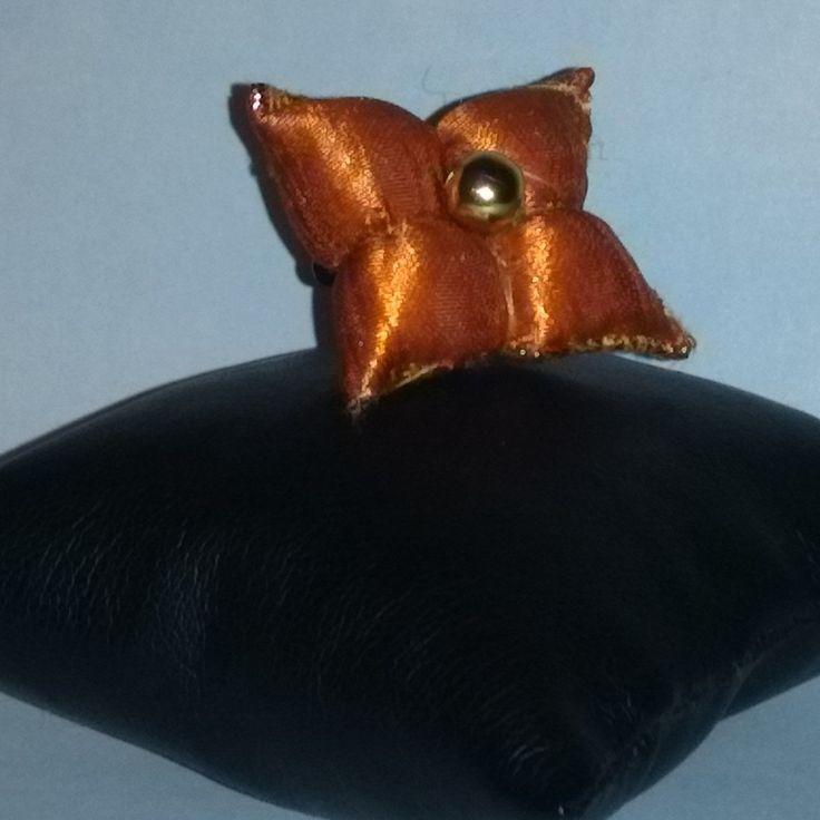 bague inspiration orientale ornée de sa perle doré : Bague par chely-s-creation