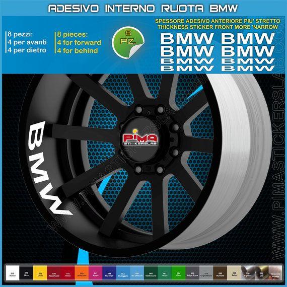 Strisce adesive cerchio BMW interno cerchi di PIMAstickerslab