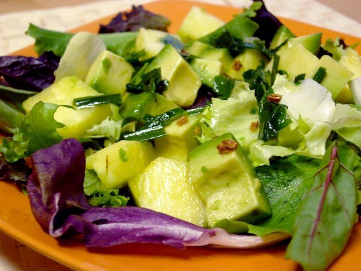Receta de ensalada de pi a 1 bolsa de mezclum de lechuga - Ensaladas gourmet faciles ...