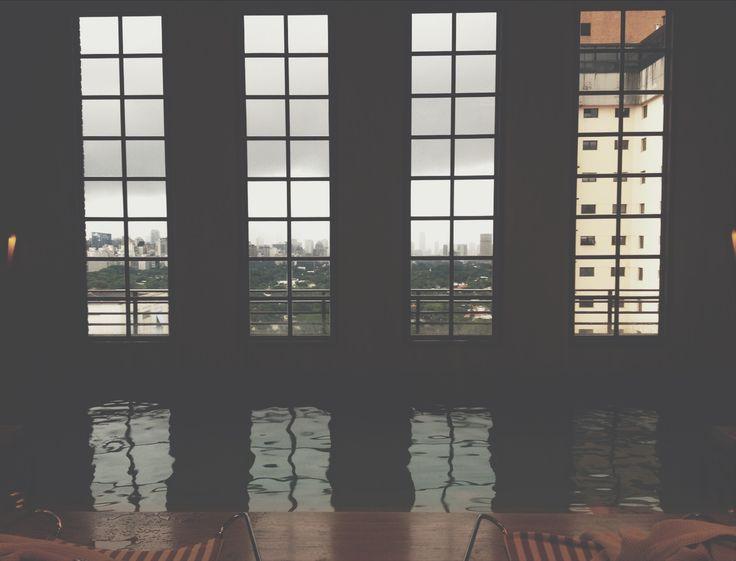 SKYLINE (Sao Paulo, 2016) #saopaulo #brasil #skyline #pool #coolestpool #largewindow #spa #photography #photo #pic #iPhone #iPhone4s #iPhonePhotography