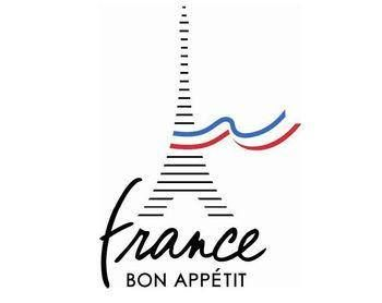 I really like this logo because while it is simple, I think it does a good job representing France. The script looks very elegant, and so does the flowing flag.