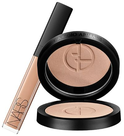 Is your makeup clogging your pores? 10 non-comedogenic switch ups. NARS Radiant Creamy Concealer, £22.50 & Armani Luminous Silk Powder, £36.50