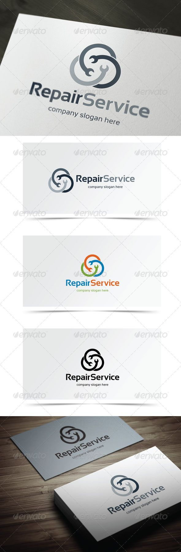 Repair Service — Vector EPS #media #wrench • Available here → https://graphicriver.net/item/repair-service/6059161?ref=pxcr