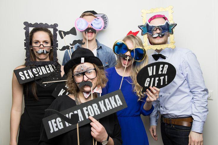 Photobooth i bursdag – Stavanger