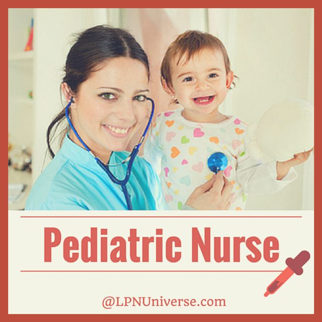 #Pediatric Nurse, for those who are passionate in working with kids.