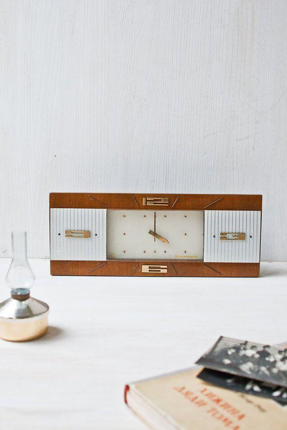 93 best Mid Century Desk Clocks images on Pinterest