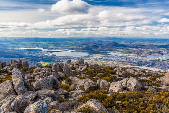 Did you know? One of the most iconic spots to take a photo of Hobart is Mount Wellington, or Kunanyi. Part of the mountain is called 'Organ Pipes', referring to the organ-shaped rock formation that dominates the silhouette. When the wind blows, you can hear the melodic sounds of the breeze tinkling through these rocks!