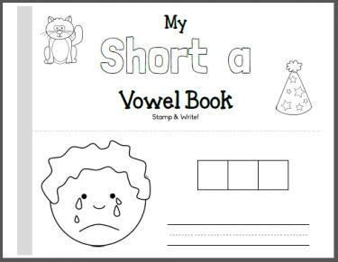 Short Vowel CVC Booklets