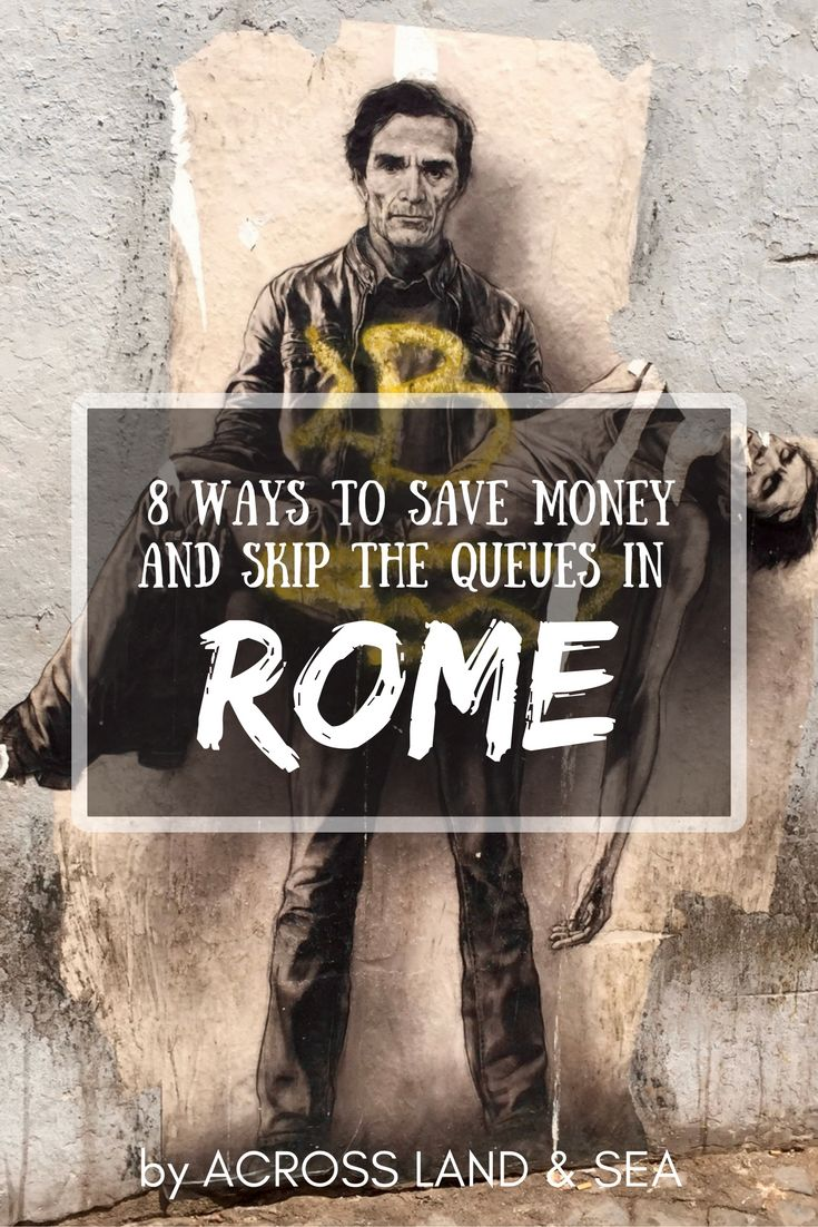 8 ways to save money and skip the queues in Rome. After our visit, we put together these top tips on visiting tourist attractions and keeping costs down :)