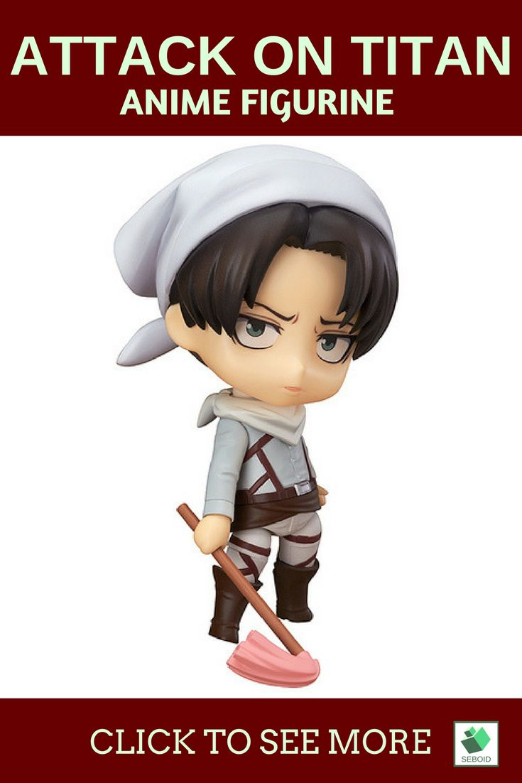 Attack on titan levi figurine| $18. This is levi when he see something dirty. Don't dissapoint our captain by helping him cleaning the mess on https://www.etsy.com/listing/532297765/attack-on-titan-levi-cleaning-mini?ref=listings_manager_grid