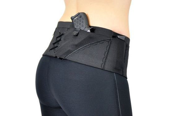 Hip Hugger Classic Gun Holster for Women's Concealed Carry