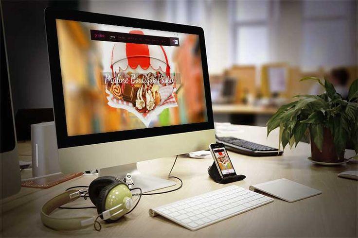Praline Boutique Pastry – Σχεδιασμός και κατασκευή ηλεκτρονικού καταστήματος