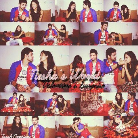 NeSha's World - Valentine's Surprise for Neha from Shakti
