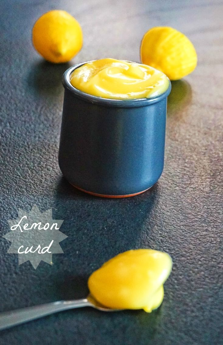 Voici une recette de lemon curd bien marqué en citron, pour les tartes au citron ou pour manger directement à la petite cuillère !