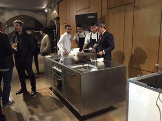 @Abimis ha accolto ieri sera gli architetti di Girona per uno showcooking con la cucina Ego!