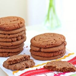Melt in your mouth peanut butter cookie taken to a whole new level by adding Nutella to the cookie dough