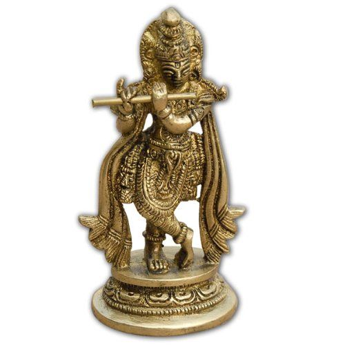 Hari Krishna seigneur dieu hindou métallique en laiton sculpture don spirituel ShalinIndia http://www.amazon.fr/dp/B004DHQZ1Y/ref=cm_sw_r_pi_dp_3woZtb0YS41EFCNP
