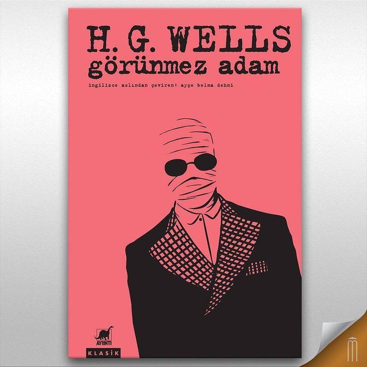 H. G. Wells'in 1897 yılında yayınlanan bilim kurgu kitabı Görünmez Adamı Mephistoda  bulabilirsiniz.  #kitap #mephisto #beyoglu #besiktas #kadikoy #istanbul
