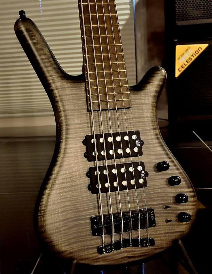 Framus & Warwick  Corvette $$ 6 strings Bleached Nirvana Black OFC