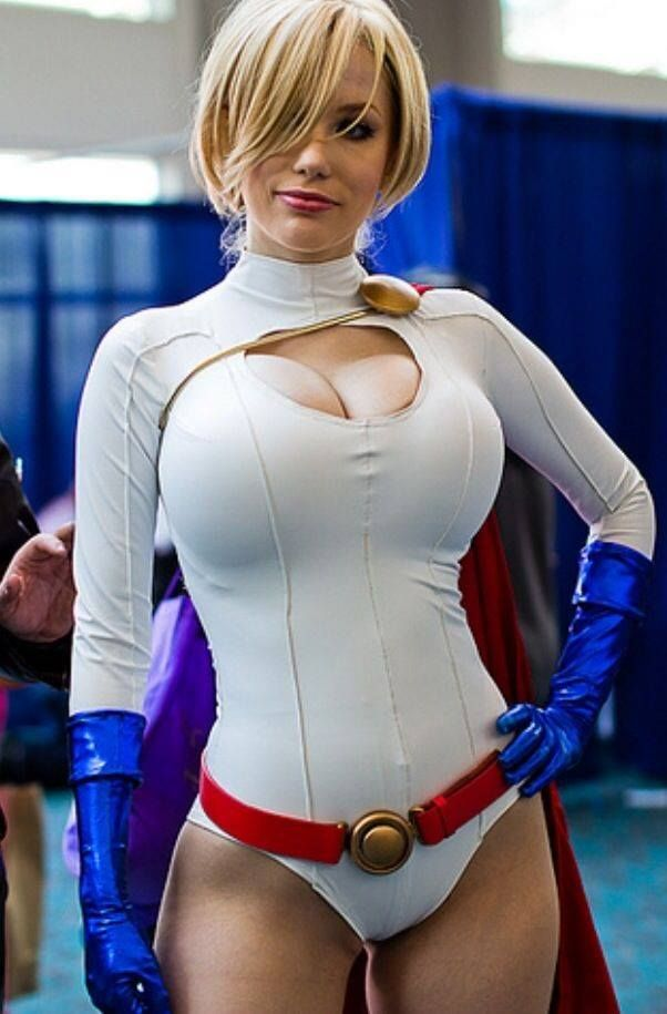 Are absolutely big boob power girl cosplay opinion