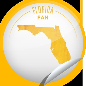 Florida Fan Whether you live in Florida full time or are just visiting to warm up, you know the outdoor recreation is top-notch. Keep checking-in to the Sunshine State while you're having fun