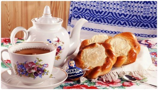 Tea and Danish Pastry - YUM! (336 pieces)