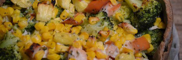 Zomerse broccoli taart
