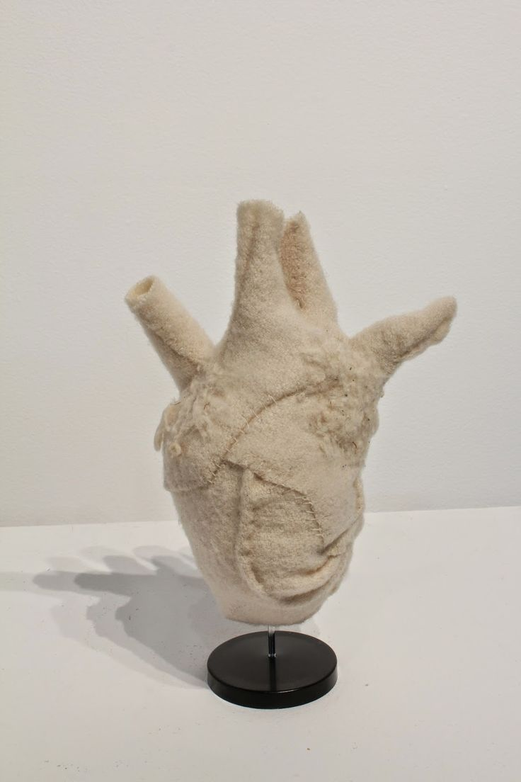 Specimen # 32.Heart .soft tissue anatomy sculpture by Andrew Delaney .Anno Domini Home . The Vivisector . Pic by Vikki Kassioras