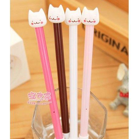 Cienkopis z łebkiem kotka, piszący na czarno. Dostępny w kolorze białym, jasnoróżowym, różowym i czekoladowym. Grubość linii 0,5 mm.