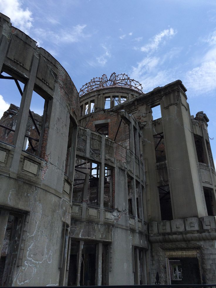 The Peace Dome in Hiroshima, Japan.