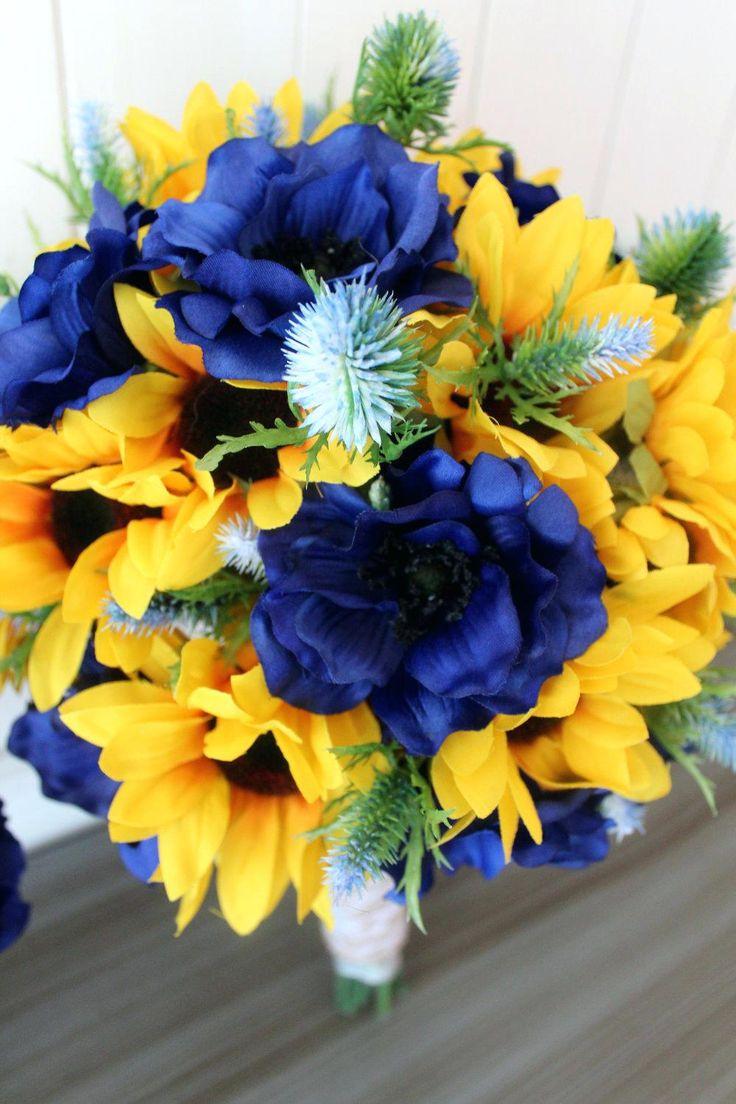 Best 25+ Sunflower bridal bouquets ideas on Pinterest ...