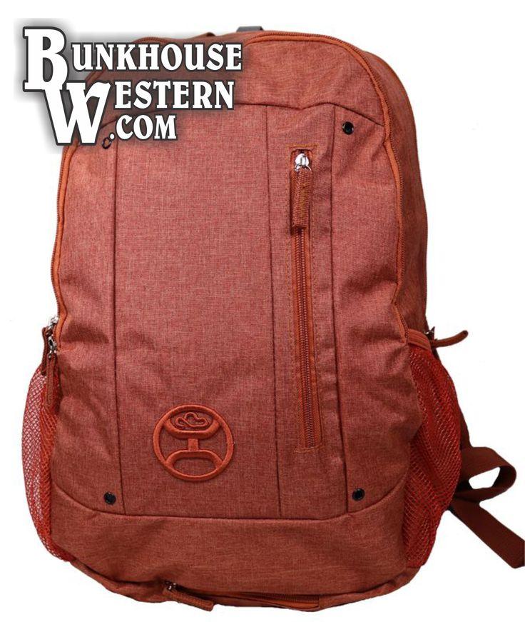 Hooey, Burnt Orange, Backpack, School Bag, $39.98