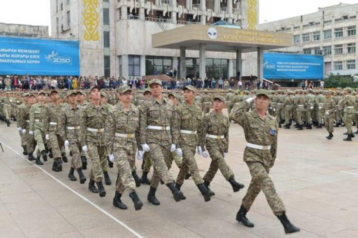 КазНУ: присягнули выпускники военной кафедры