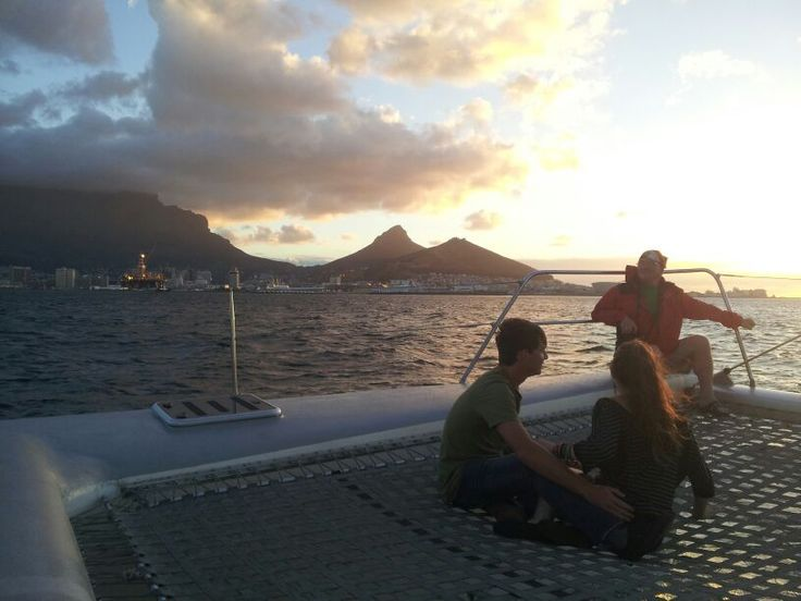 Cape Town, South Africa. Before traveling outside of SA. A different yacht trip with Bodhi <3